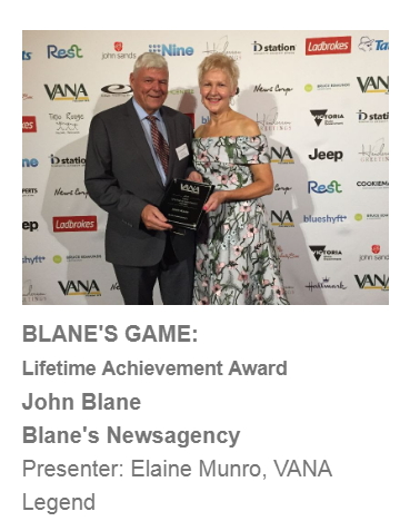 Colav newsagency VANA awards