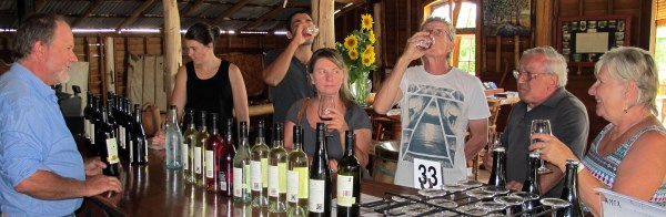 Gracebrook vinyard wine tasting