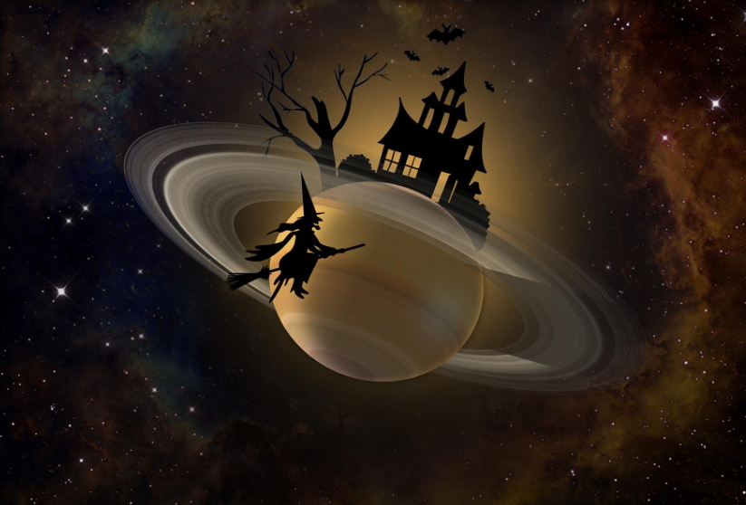 Halloween Saturn NASA 2018