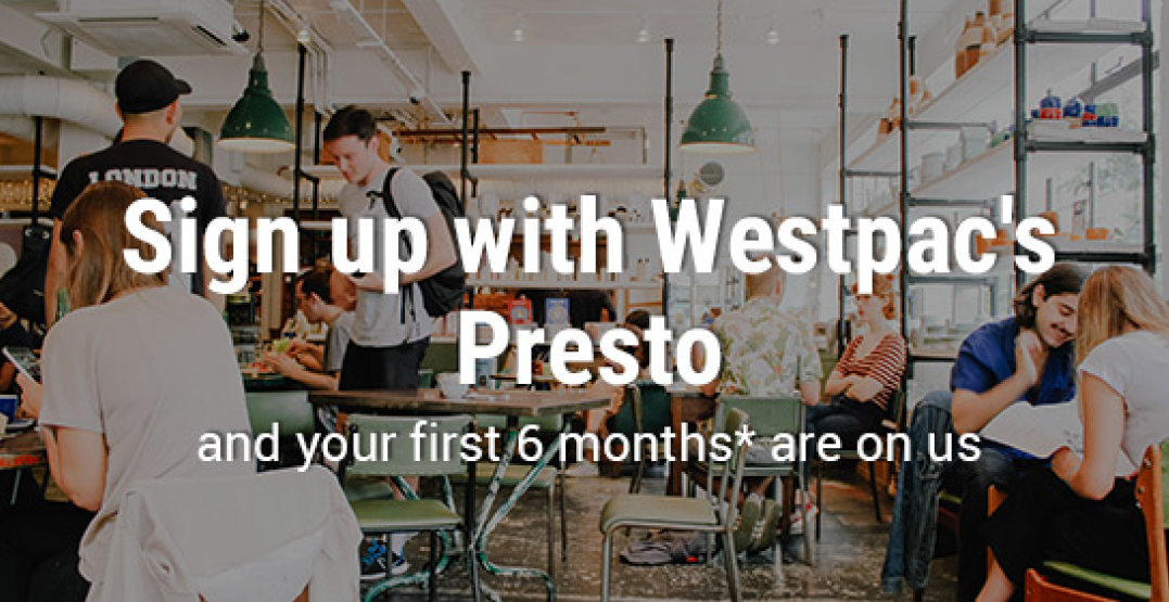 WestPac six month free EFTPOS offer