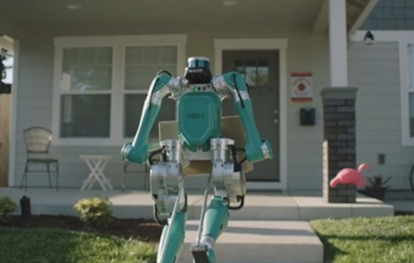 Robots doing home delivery
