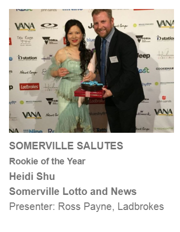Somerville lotto Vana awards