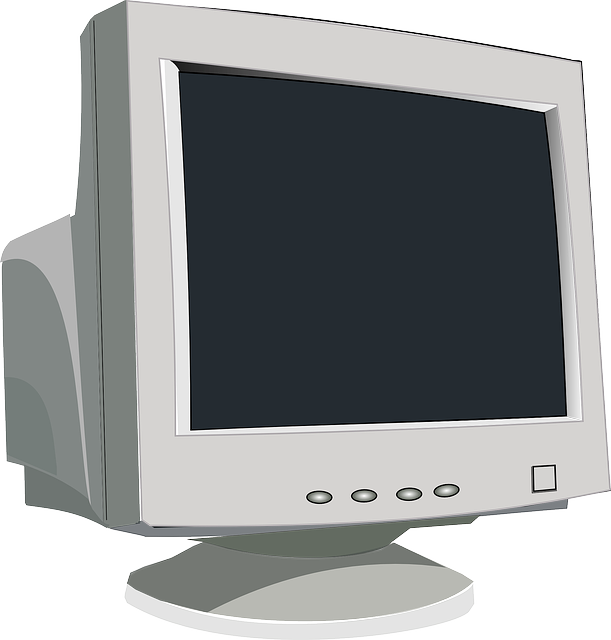 Old monitor for the tip